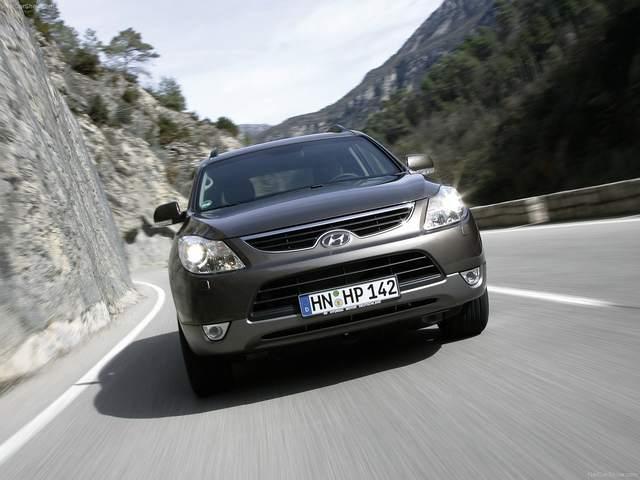 Hyundai Veracruz (IX55) V6هیوندای وراکروز (آی ایکس 55) شش سیلندر 2007-2012