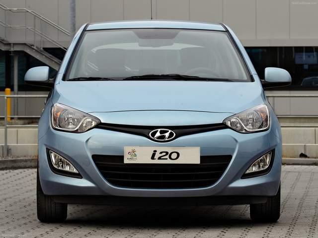 Hyundai i20 1.6Lهیوندای آی20 1600 2008-2014