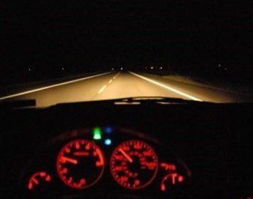 رانندگی در شب