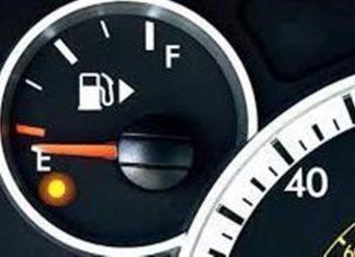 چراغ آمپر بنزین