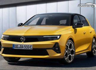 نسل جدید اوپل آسترا با طراحی مدرن رونمایی شد