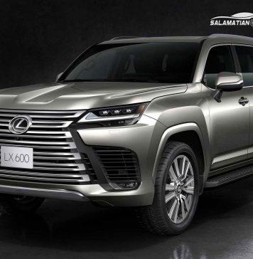 معرفی نسل جدید خودرو لکسوس LX بر اساس تویوتا لندکروزر J300 |