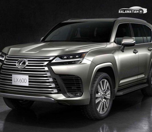 معرفی نسل جدید خودرو لکسوس LX بر اساس تویوتا لندکروزر J300  